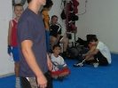 Boxing training in our club