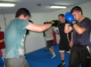 Amateur boxing training