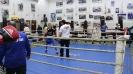 מוחמד עובד עם מאמן איגרוף אנגלי
