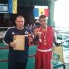 מוחמד אבו ריאש - מקום ראשון בטורניר איגרוף במולדובה 2014