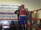 דניאל מסלוב עם מאמן שלו יעקוב וולוך - אליפות ישראל באיגרוף בבוגרים 2012