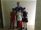 נשאת, דני ואנטון עם מאמן דוד וולוך