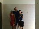 נשאת אלג'מל ואנטון נובוסלסקי עם מאמניו יעקב וולוך