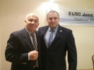 עם פרנקו פאלצ'ינלי, יושב ראש איגוד אירופאי - פולין 2015